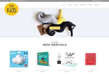 The Kids - Website by Big Clould Creative Web Design in Stratford upon Avon