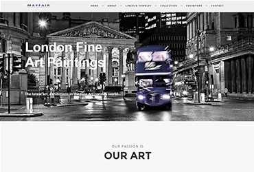w1 art - Website by Big Clould Creative Web Design in Stratford upon Avon