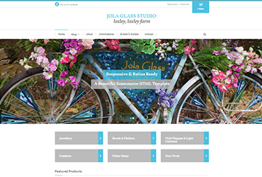 Website by Big Clould Creative Web Design in Stratford upon Avon